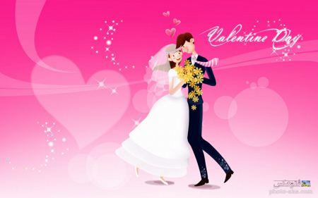 عکس عروس و داماد کارتونی aks aroos va damad