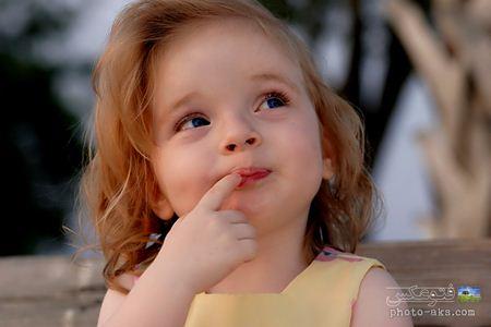 عکس دختر بچه شیرین very sweet girl