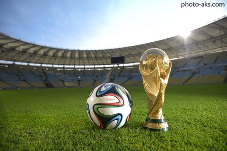 توپ و کاپ جام جهانی 2014 world cup brazil wallpaper