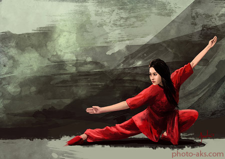 ورزش ووشو بانوان wushu wallpaper