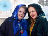 عکس نوروزی بهاره رهنما با مادرش
