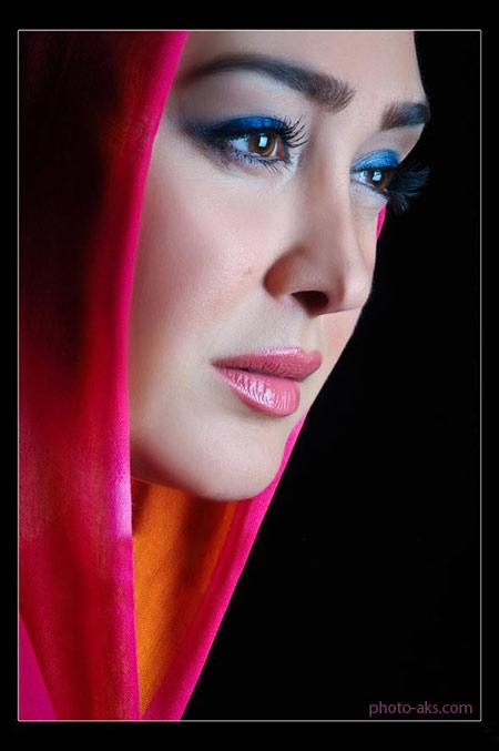 عکس با آرایش الهام حمیدی makeup iranian girl