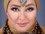 عکس الهام حمیدی با آرایش
