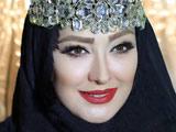 بازیگر زن الهام حمیدی با آرایش
