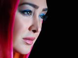 عکس با آرایش الهام حمیدی