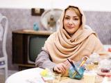 عکس شخصی هانیه توسلی شال کرمی
