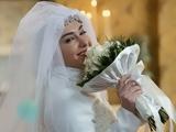 هانیه توسلی در لباس عروسی