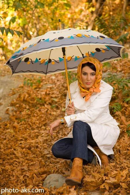 عکس پاییزی شخصی لیلا بلوکات aks shakhsi leyla bolokat