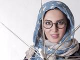 عکس لیلا بلوکات با عینک رامبدی