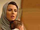 لیلا حاتمی و فرزندش