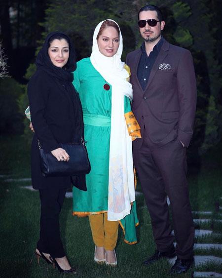 عکس جدید مهناز افشار و همسرش mahnaz afshar hamsar