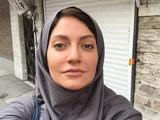 عکس بدون آرایش مهناز افشار