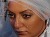 مهناز افشار در لباس عروس