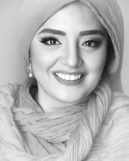 عکس زیبای نرگس محمدی narges mohamadi makeup