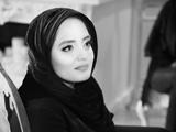 عکس سیاه سفید نرگس محمدی