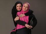 عکس خانوادگی نرگس محمدی