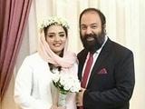 عکس مراسم ازدواج نرگس محمدی