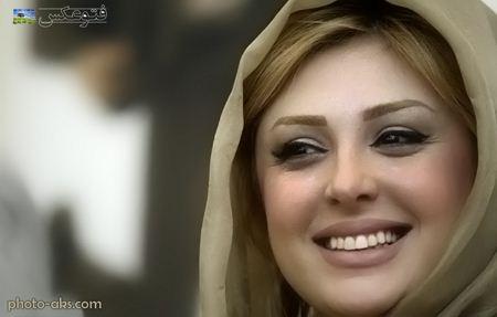 لبخند زیبا بازیگر زن ایرانی akz ziba niusha zighami