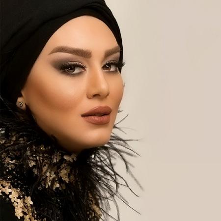 سحر قریشی بازیگر زن با آرایش زیبا make up sahar ghoreishi