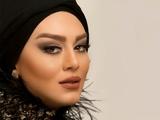 سحر قریشی بازیگر زن با آرایش زیبا
