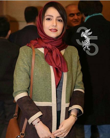 نازنین بیاتی جشنواره فجر 35 ام nazanin bayati jashnvareh fajr