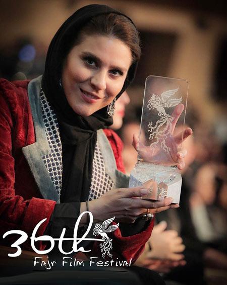 سحر دولتشاهی برنده جشنواره sahar dolatshahi fajr 36
