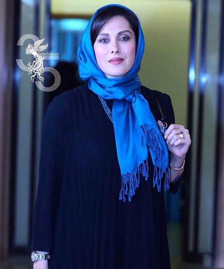مهتاب کرامتی افتتاحیه جشنواره فجر mahtab keramati fajr 35
