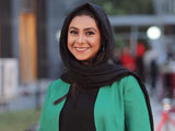 آزاده صمدی در جشن حافظ