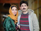 حدیث میرامینی و همسرش در جشنواره