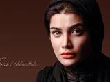 پوستر زیبا تینا آخوند تبار بازیگر زن