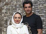 یکتا ناصر در کنار همسرش