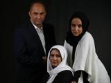 عکس خانوادگی شبنم قلی خانی