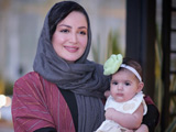 عکس شیلا خداداد و دخترش
