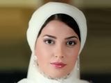 طناز طباطبایی در لباس عروسی