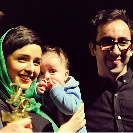 عکس همسر و فرزند ترانه علیدوستی aks khanevadegi bazigaran