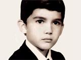 عکس کودکی حامد بهداد