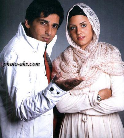 حمید گودرزی و همسرش hamsar hamid godarzi