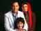 عکس خانوادگی امیرحسین رستمی