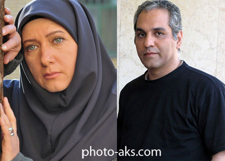 مهران مدیری و همسرش mehran modiri