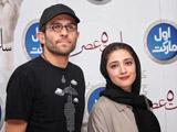 عکس بابک حمیدیان و همسرش
