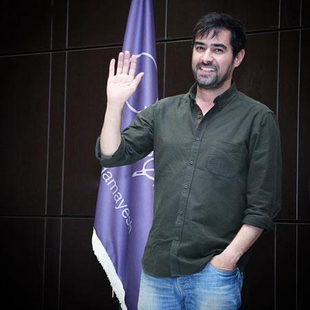شهاب حسینی با تیپ ساده shahab hosseini