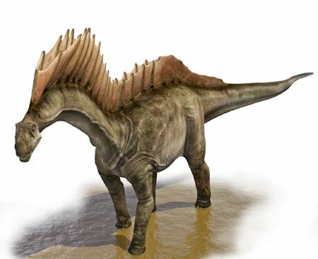 دایناسور آمارگاسور amargasaurus dinosaurs