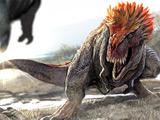 عکس نبرد دایناسورها
