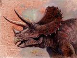 نقاشی دایناسور گیاه خوار