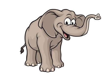 عکس کارتونی فیل elephant cartoon download