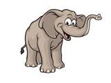 عکس کارتونی فیل