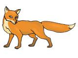 نقاشی کارتونی روباه