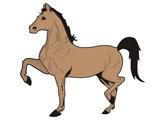 عکس نقاشی اسب کارتونی