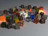 مکعب های سه بعدی زیبا