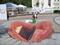 نقاشی خیابانی لب و دهان بزرگ